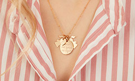 Our edit of the best personalised jewellery for Mother's Day