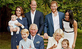 Prince Charles and Prince Louis' close bond captured in new photo