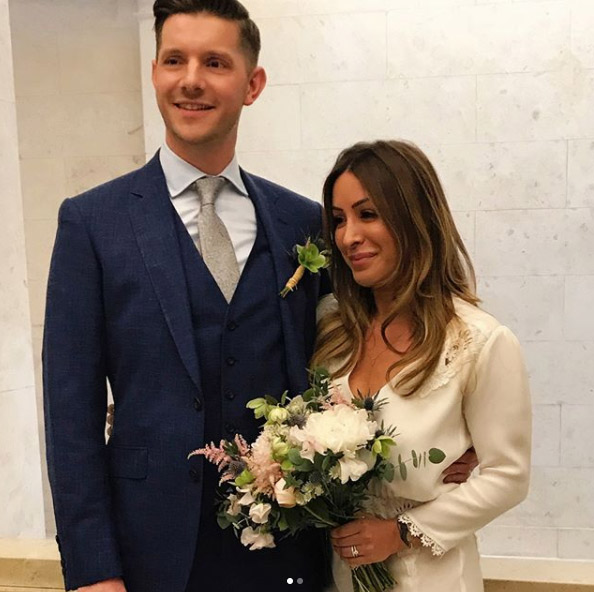 Arlene Phillips daughter marries