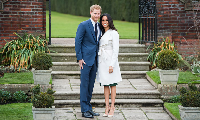Prince Harry with Meghan Markle