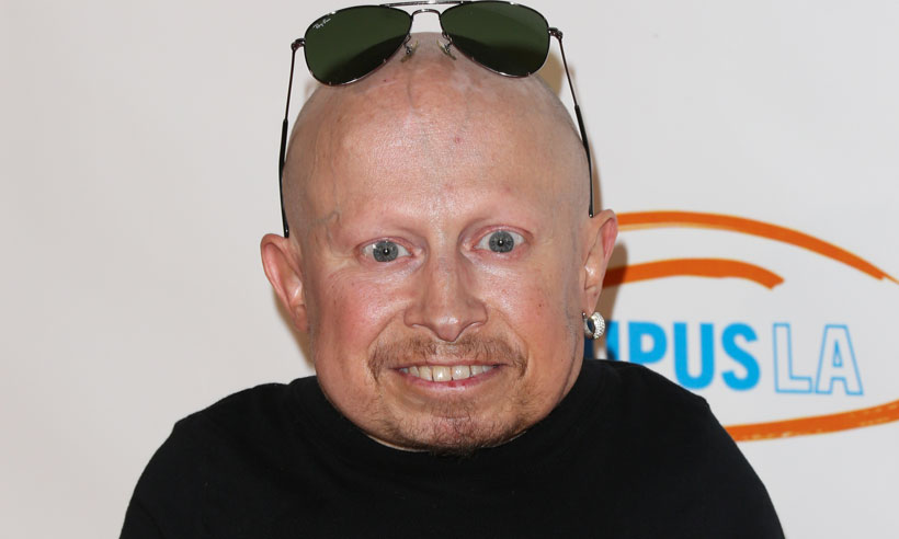 Verne Troyer at premiere