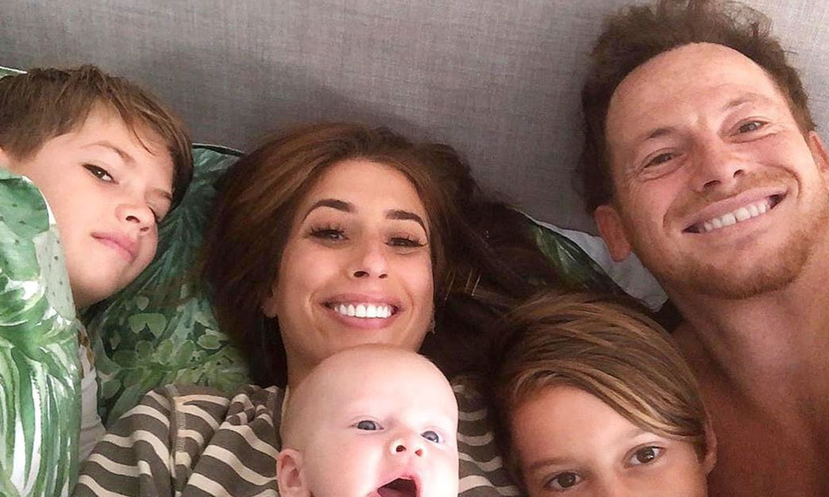 stacey solomon with her boys