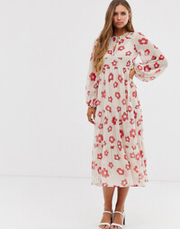 ASOS Design dress with sleeves