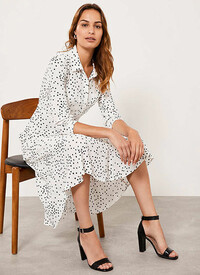 Mint Velvet spotty dress