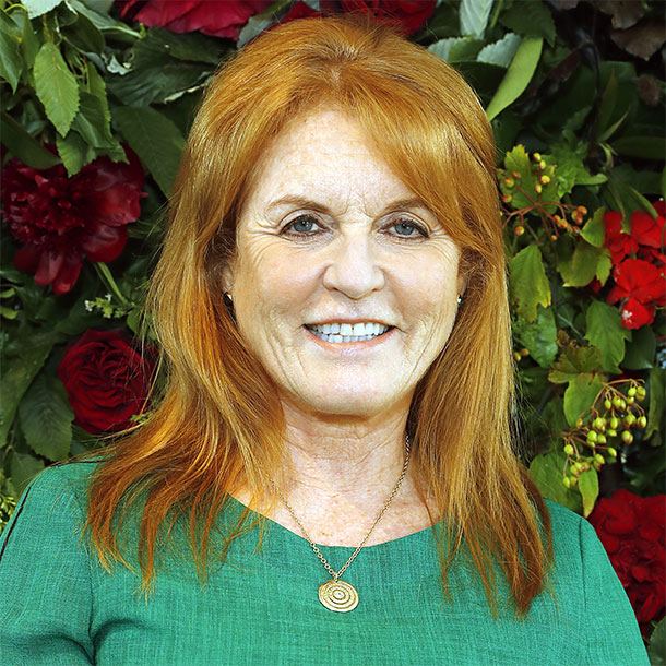 Sarah Ferguson stuns onlookers in the funkiest Gucci jacket ever