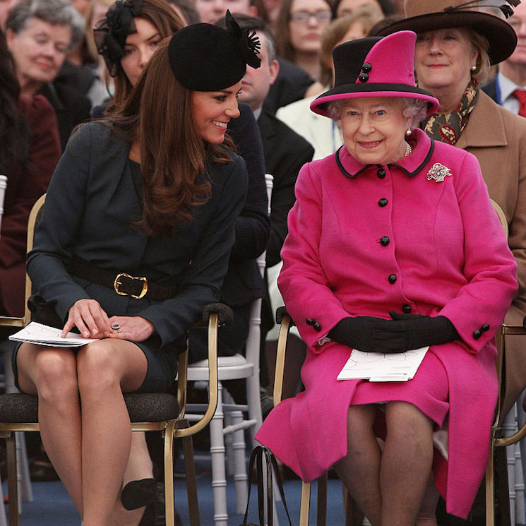 When royals grace the FROW at fashion shows! From the Queen to Kate Middleton and Princess Beatrice