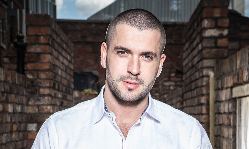 aidan connor actor shayne ward coronation street
