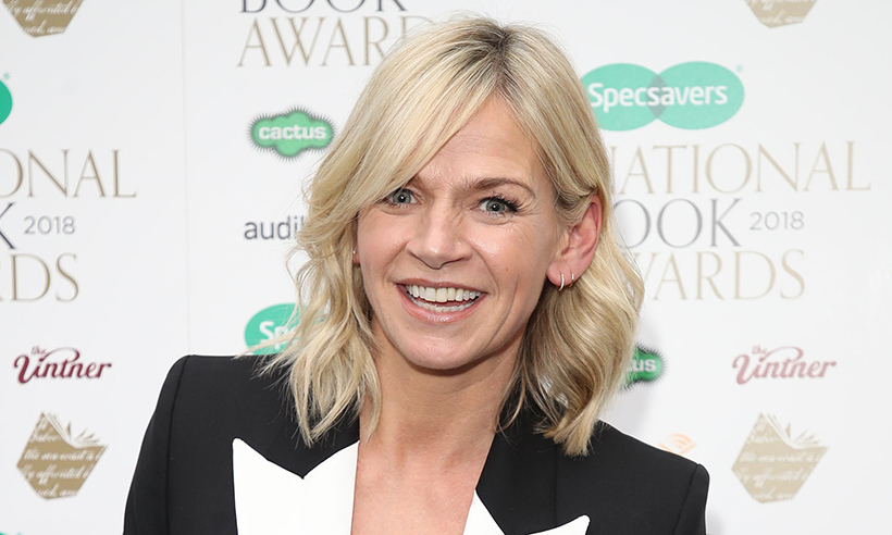 zoe ball at specsavers event