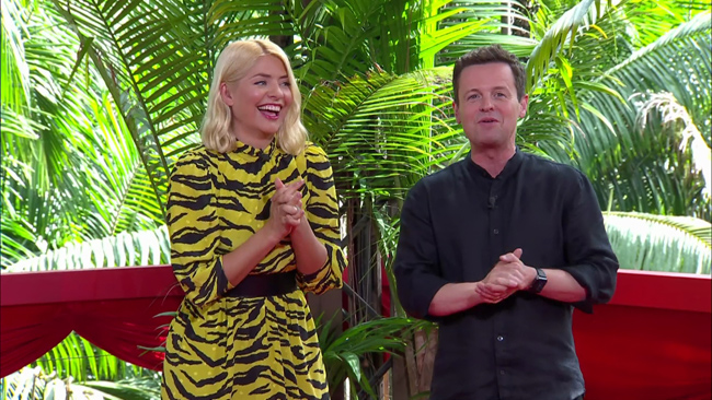 holly willoughby and declan donnelly on im a celebrity
