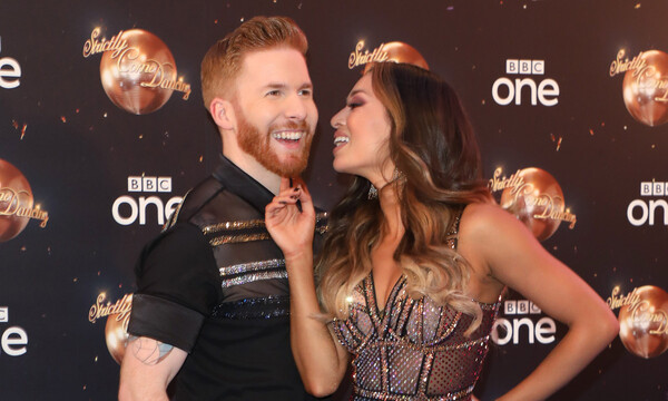 katya and neil jones at strictly