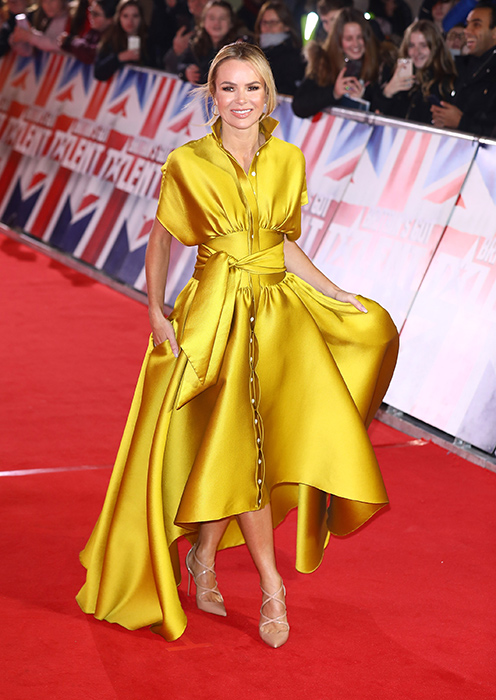 amanda-holden-yellow-dress