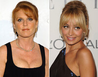The Fringed Up Do as seen on Sarah Ferguson and Nicole Richie