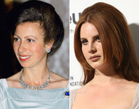 big hair as seen on Princess Anne and Lana Del Rey