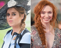 The Fish Tail Plait as seen on Princess Beatrice and Eleanor Tomlinson