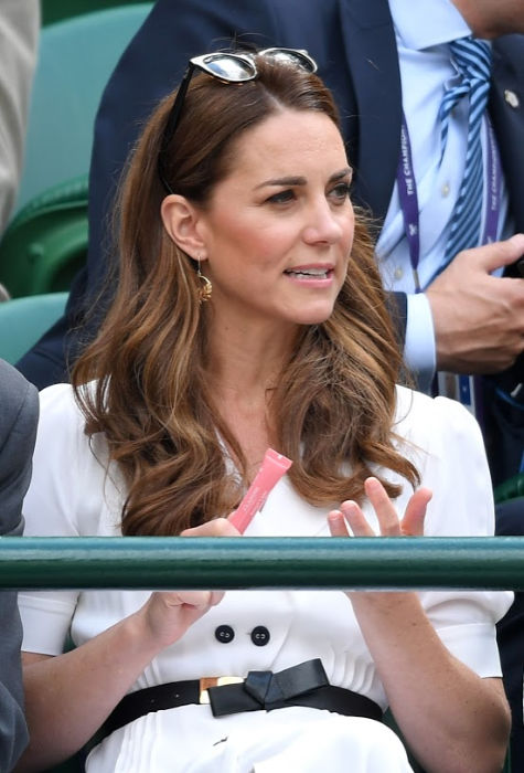 kate middleton lip gloss wimbledon