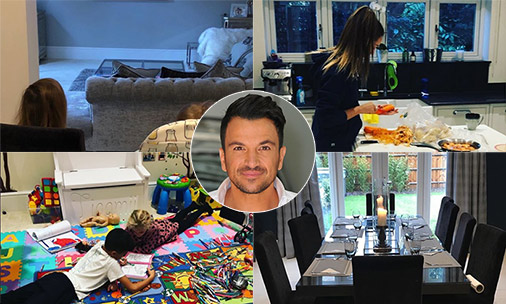 See inside Peter Andre's beautiful family home