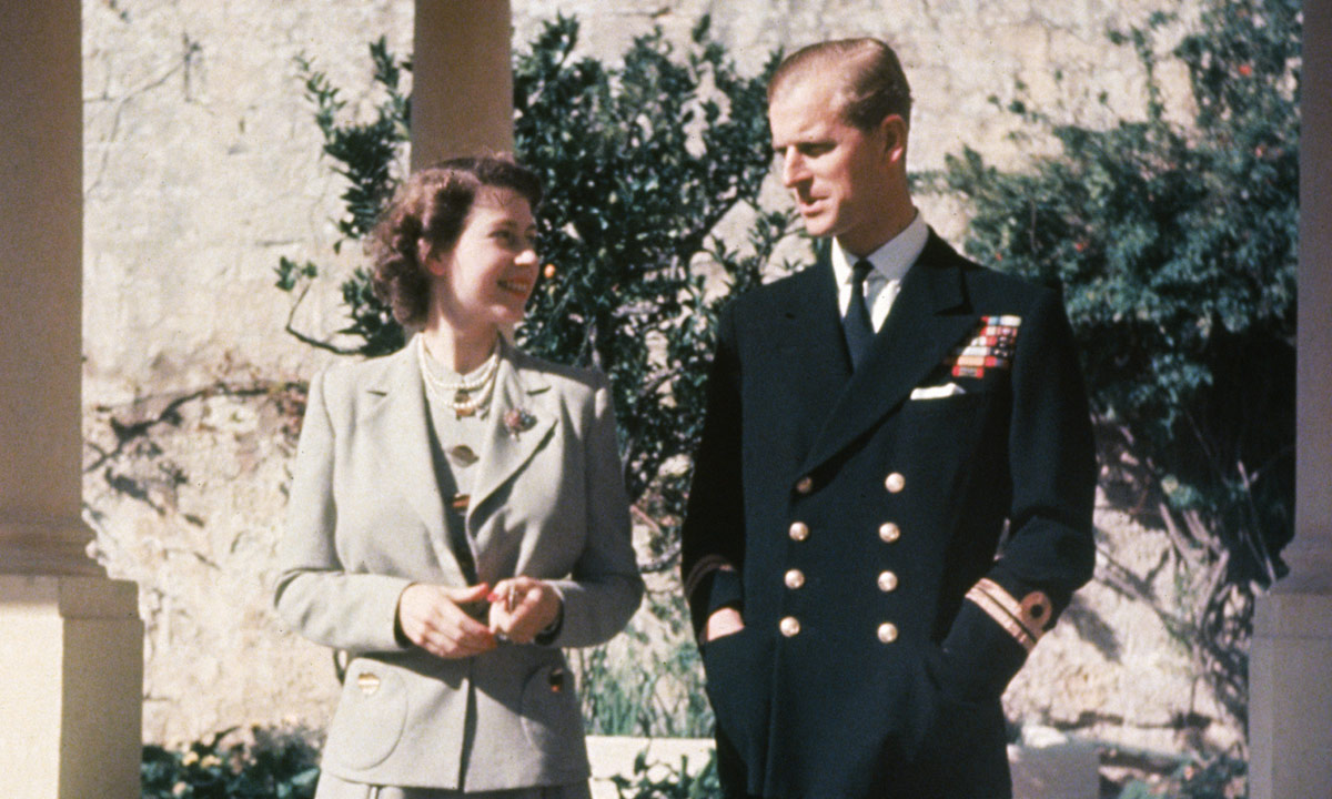 the queen and prince philip in malta