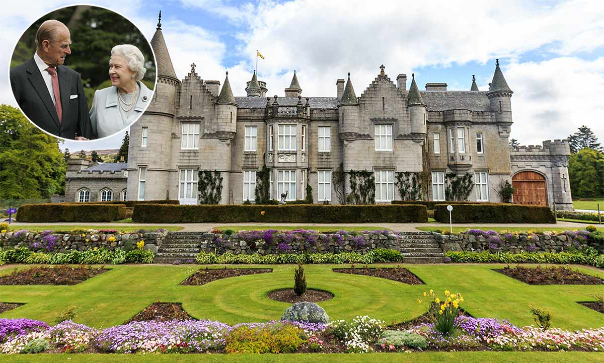 Inside the Queen and Prince Philip's Scottish residence Balmoral Castle