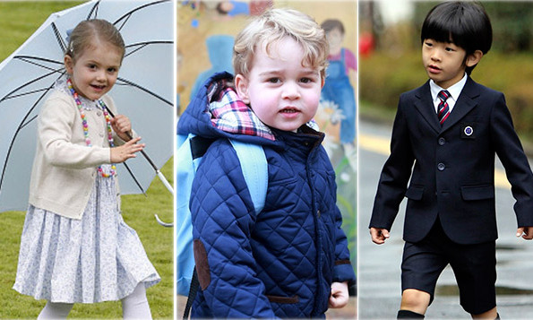 Prince George to Princess Estelle: Little royals and their schools