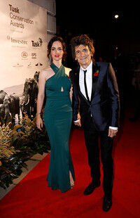 ronnie wood wife tusk awards