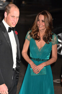kate middleton prince william tusk awards night
