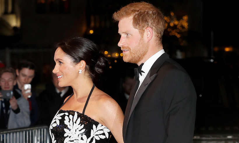 All the best photos from Meghan Markle's first ever Royal Variety Performance with Prince Harry