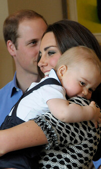 kate prince george hug