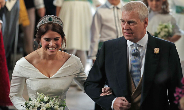 prince andrew and daughter princess eugenie