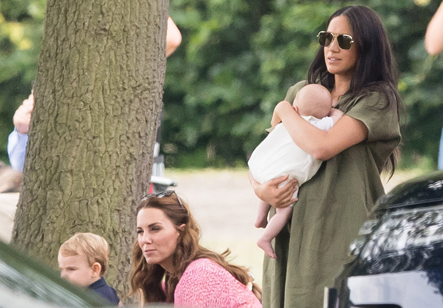 Kate Middleton and Meghan Markle UNITE with kids including baby Archie to watch Princes at polo - LIVE UPDATES