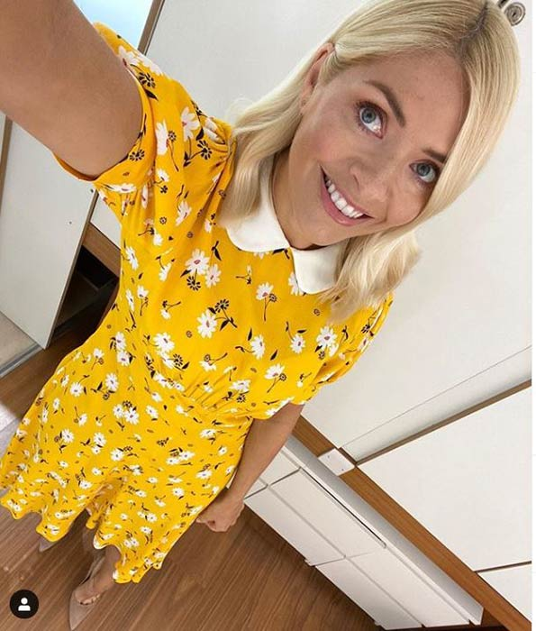 holly-willoughby-yellow-floral-ghost-dress